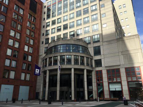 ニューヨーク大学NYU Stern School of Businessを訪問。