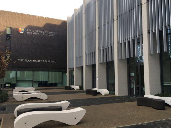 University of Birmingham(イギリス) MBA紹介とキャンパス散策